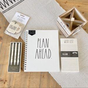 Rae Dunn   planner, pens, pen holder & more